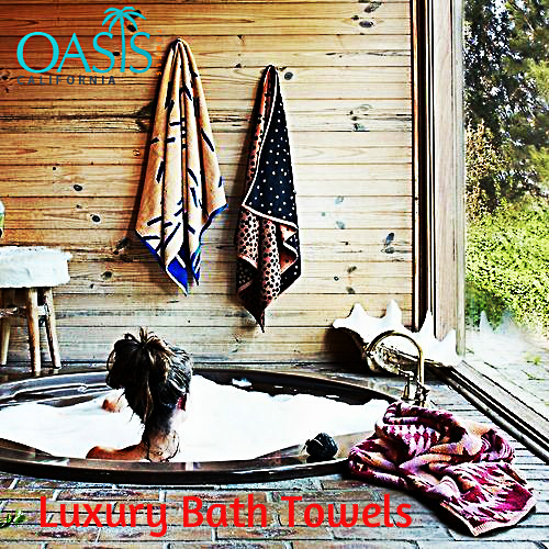Choose Luxury Bath Towels to Add Beauty and Life to Your Bathroom