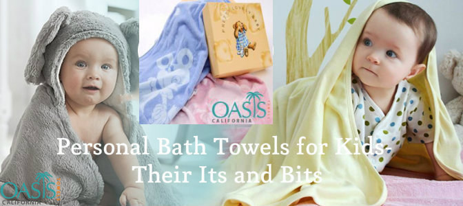 Personal Bath Towels for Kids - Their Its and Bits