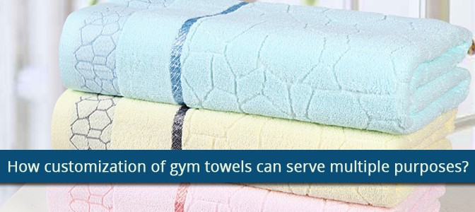 How Customization of Gym Towels can Serve Multiple Purposes