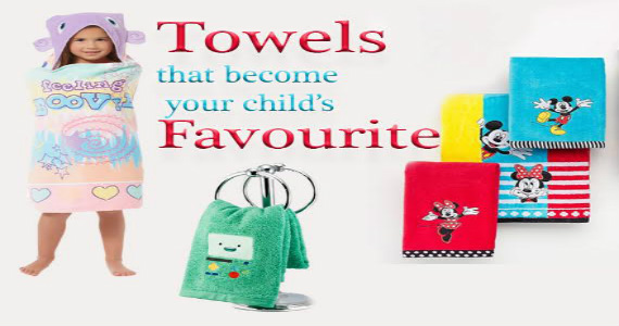Different Places Where Your Kids Will Need Separate Towels