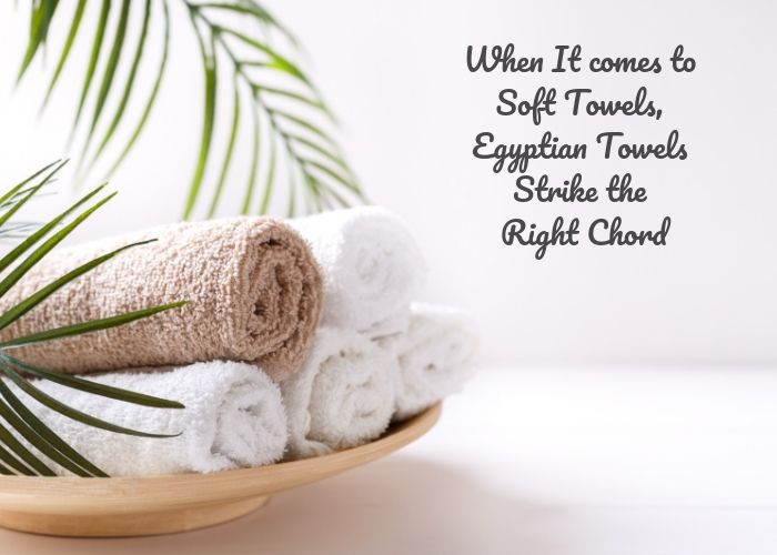 When It comes to Soft Towels, Egyptian Towels Strike the Right Chord