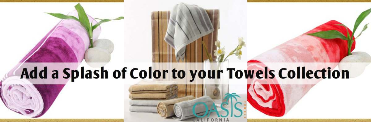 Add a Splash of Color to Your Towels Collection with Sublimation Varieties
