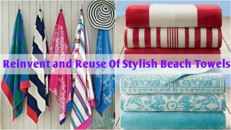 Reinvent and Reuse Old yet Stylish Beach Towels