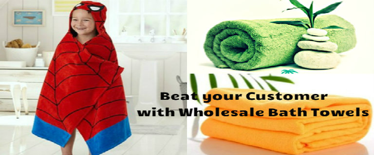 5 Custom Wholesale Bath Towels Retailers Must Stock in 2017