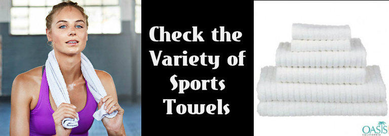 Choose The Right Fabric Of Wholesale Sports Towels For Your Business!