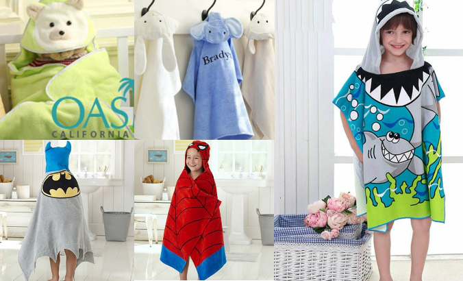 5 Prints that You Can Use to Adorn the Beach Towels for Kids