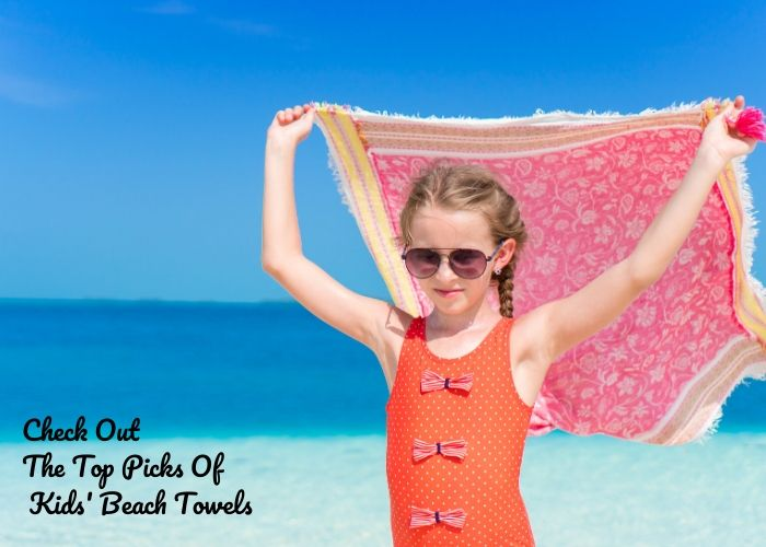kids personalized beach towels