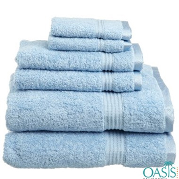 Wholesale Baby Blue Egyptian Towels Manufacturer