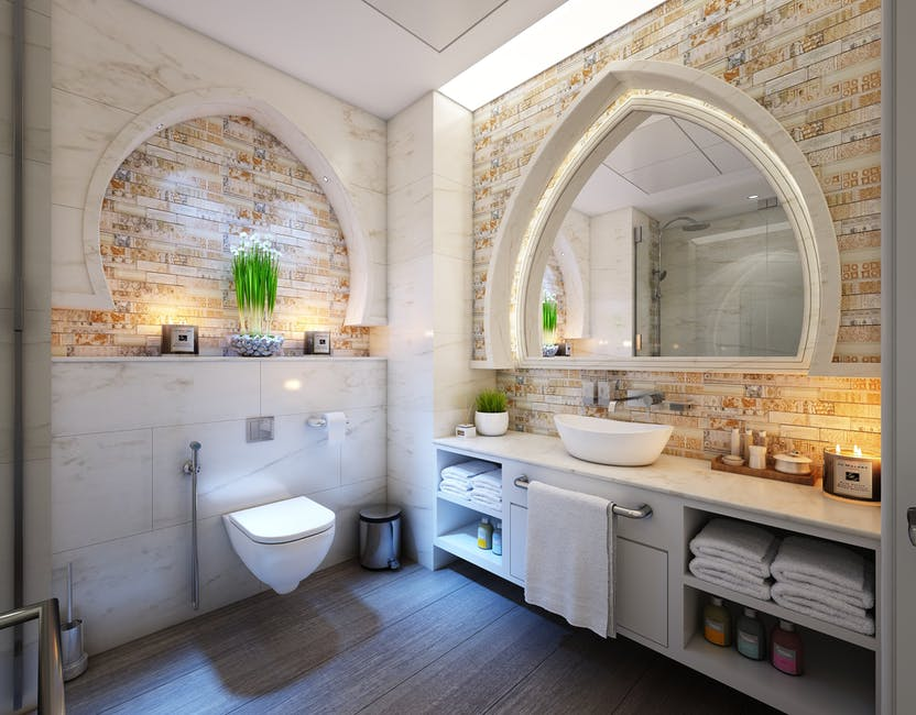 Be Yogic In Your Bathroom's Color Combination To Escalate Holistic Harmony