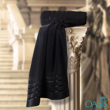 Wholesale Black Hand Towels