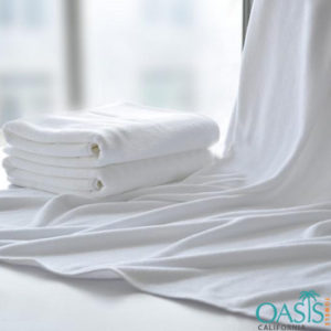 Blank White Soothing Beach Towels Manufacturer