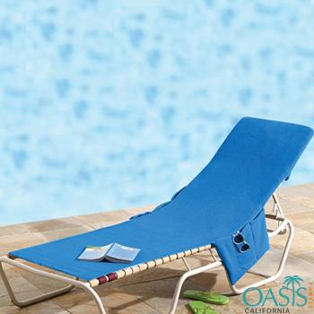 Blue Lounge Chair Beach Towels Manufacturer