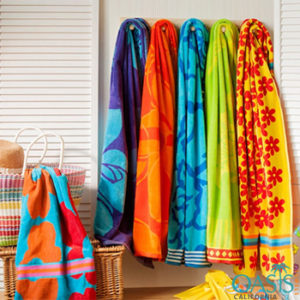 Bright Colored Beach Towels Manufacturer