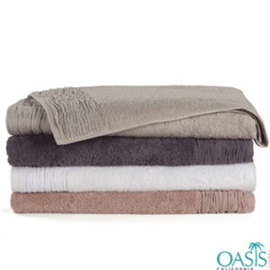 Wholesale Colorful Organic Towel Set Manufacturer