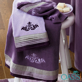 Decorative Purple Beach Towels Manufacturer