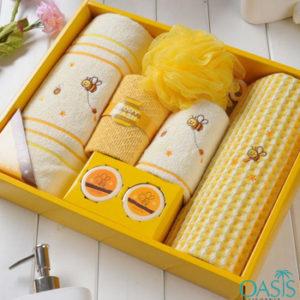 Wholesale Honey Bee Luxury Towel Set Manufacturer