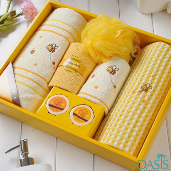 Wholesale Honey Bee Luxury Towel Set Manufacturer