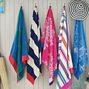 Patterned Colourful Beach Towels