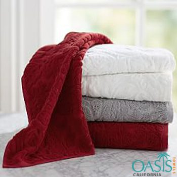 Plush Self Designed Bath Towels Manufacturer