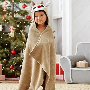 Wholesale Rudolph The Red-Nosed Reindeer Bath Wrap