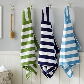 Attractive Bold Stripe Bath Towels Manufacturers