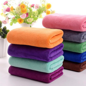 Wholesale Soft Colored Bleach proof Salon Towels Manufacturer