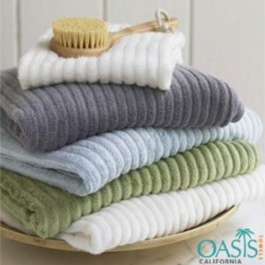 Wholesale Soft Color Combed Weave Bath Towels Manufacturer