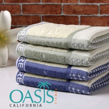 Wholesale Towels with Awesome Geometric Bands USA