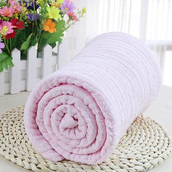Wholesale Baby Powder Pink Custom Towel