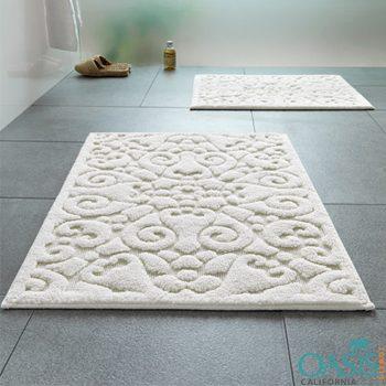 Wholesale White Bath Mat Manufacturer