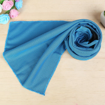Wholesale Blue Icy Cold Snap Cooling Towel Manufacturer