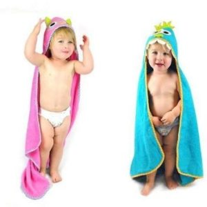 Wholesale Baby Towels in Blue and Pink