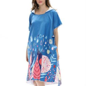 Wholesale Dye White & Blue Sublimation Towels Manufacturer