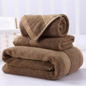 Wholesale Mahogany Brown Custom Towels Manufacturer