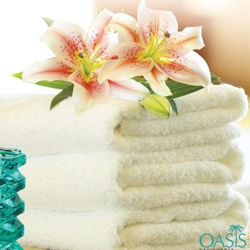 Wholesale Buttery Cream Hotel Towels Manufacturer
