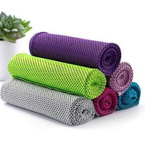 Wholesale Soft Colored PVA Sports Cooling Towel