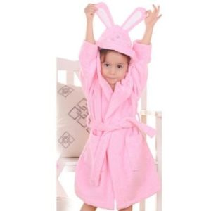 Wholesale Baby Pink Bathrobes for Kids