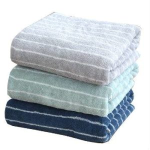 Wholesale Dual Color Hotel Towel Set Manufacturer