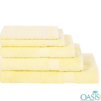Wholesale Rich Pollen Yellow Custom Towels