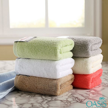 Wholesale Soft Colored Egyptian Towel Set