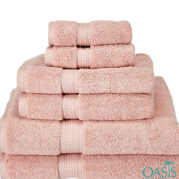 Wholesale Pastel Pink Egyptian Towels