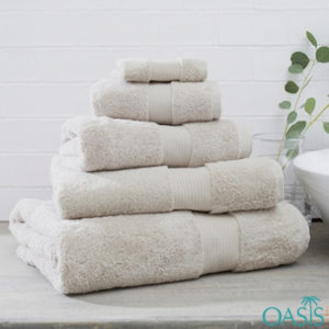 Wholesale Ivory White Egyptian Towels