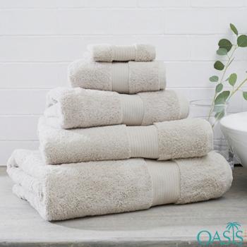 Wholesale Ivory White Egyptian Towels