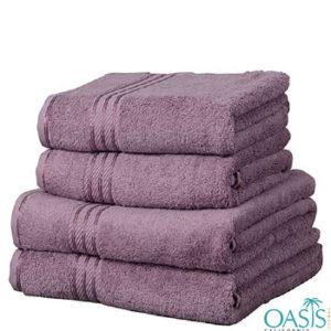 Wholesale Purple Egyptian Towels Manufacturer