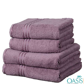 Wholesale Purple Egyptian Towels Manufacturer