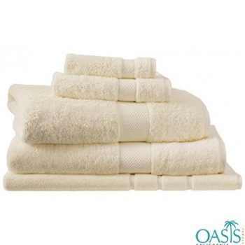 Wholesale Off White Egyptian Towel Set Manufacturer
