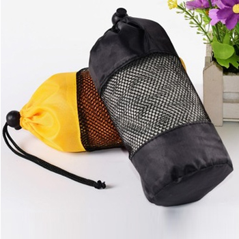 Wholesale Organic Bamboo Cooling Towel Manufacturer with Mesh Bag