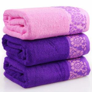 Dark Purple Custom Printed Gym Towels Manufacturer