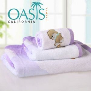 Lavender Dew Fluffy Clouded Towels Wholesale Manufacturer
