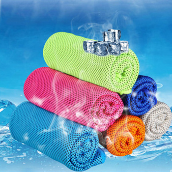 Wholesale Colorful Perforated Icy Cool Towel Manufacturer